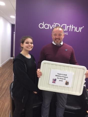 DavidArthur drop off 24 March