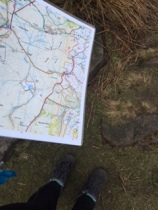 map and feet 11 mar